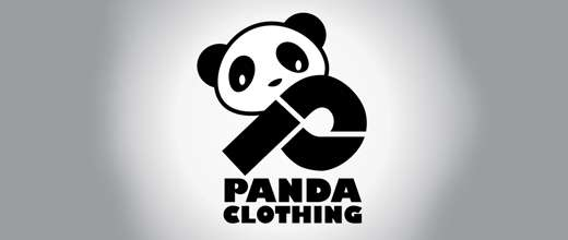 Clothing panda logo