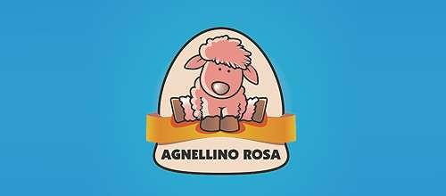 Agnellino rosa logo