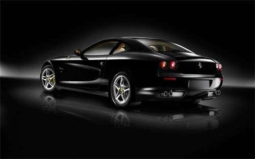 Cool Black Ferrari_84446 Wallpaper
