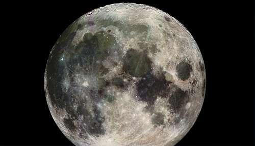 Amazing full cool moon wallpaper