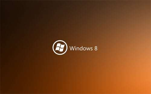 Dark Orange Windows 8 wallpapers