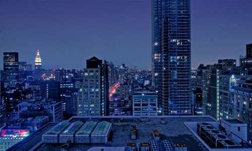 Manhattan free high resolution skyscraper wallpaper