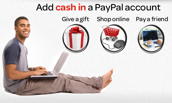How to add cash to Paypal Moneygram