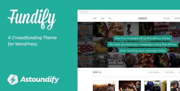 Fundify - Crowdfunding WordPress Theme - Miscellaneous WordPress