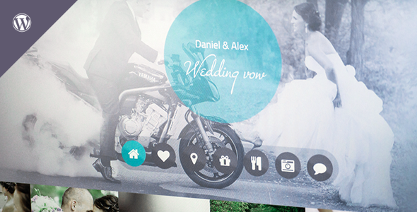 Wedding vow - Responsive WordPress Theme - Events Entertainment
