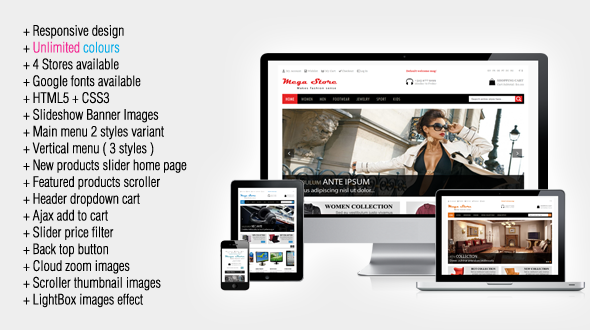 10 Best Shopping Magento Themes : Freakify.com