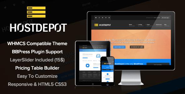 HostDepot - Responsive WordPress Hosting Theme - Hosting Technology