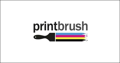 20 stylish paint brush logo designs for Painting and decorating logo ideas
