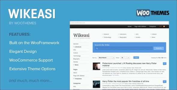 Wikeasi  - Miscellaneous WordPress