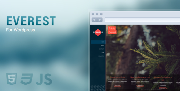 Everest - Full Screen, Responsive & Retina - Miscellaneous WordPress
