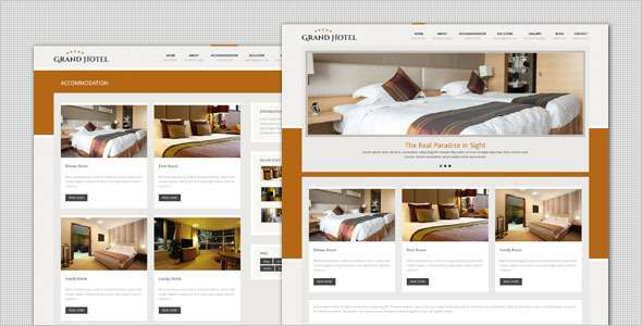 Grand Hotel - Resorts Business  WordPress Theme - Miscellaneous Frameworks