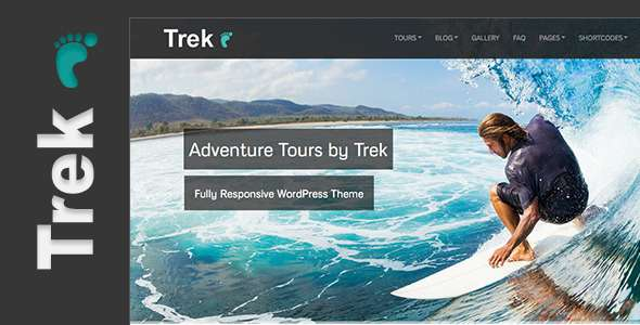 Trek - Responsive WordPress Tour/Travel Theme - Miscellaneous WordPress