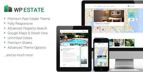 WP Estate Responsive WordPress Theme - Miscellaneous WordPress