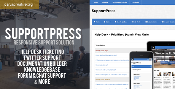 SupportPress :: Responsive Support Solution - Miscellaneous WordPress