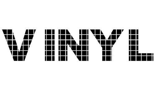 Vinyl Tile font