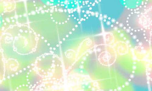 Shiny Dotted Swirls