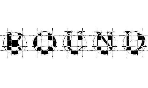 roundgraph font