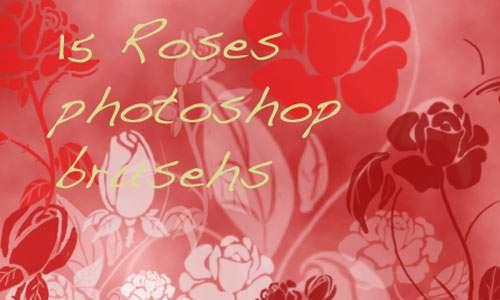 Roses brushset 3