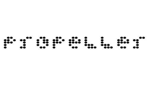 PropellerFuel font