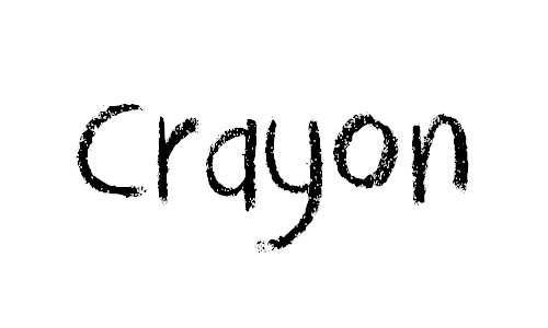 DK Crayon Crumble font