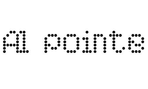 AI pointe font