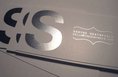 Sleek Simple Design Business Cards