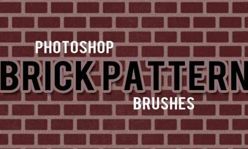 Photoshop Brick Pattern Brushes