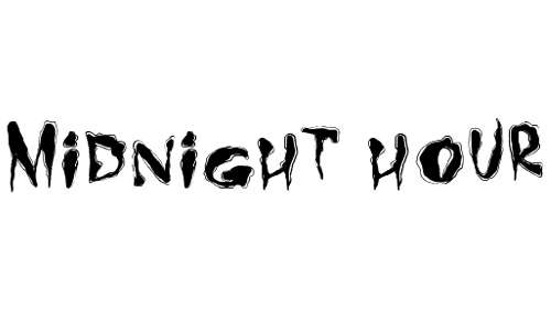 Midnight Hour font