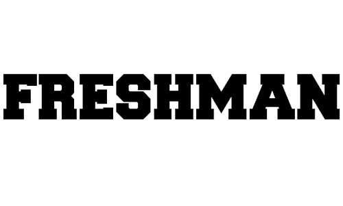 Freshman font