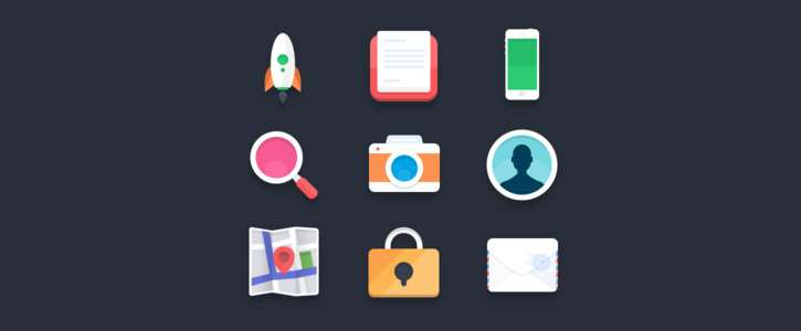 Flat Icons 2 by Pierre Borodin