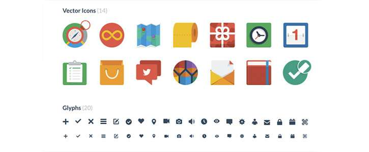 Flat UI Icons by Designmodo