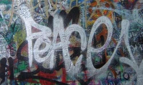Prague Peace Graffiti