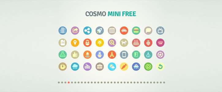 Cosmo Mini free by Icojam
