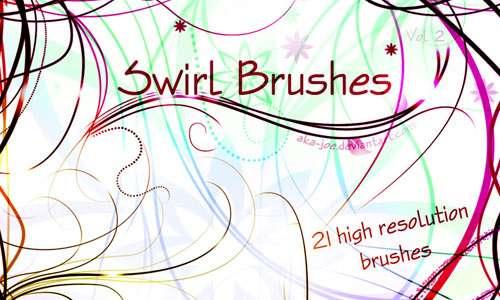 Swirl Brushes - Volume 2