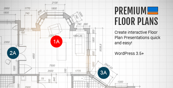 Premium Floor Plans - CodeCanyon Item for Sale