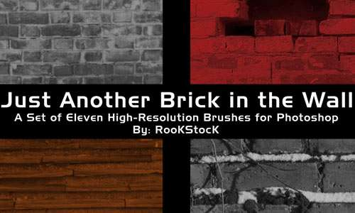 Another Brick in the Wall brushes