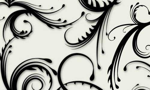 Spiky Swirls brushes