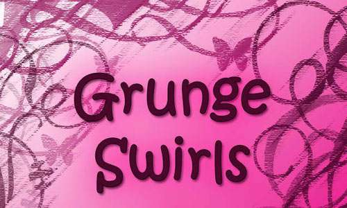 Grunge Swirl Brushes 3