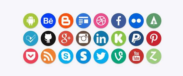 Social Icons by Brian Macco