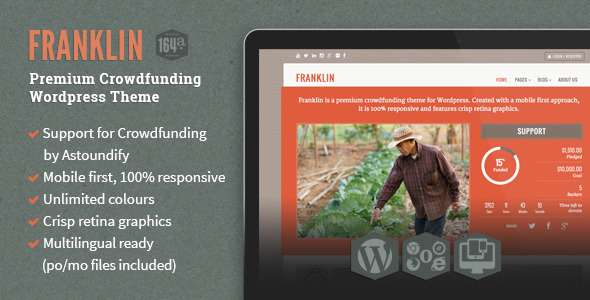 Franklin WordPress Crowdfunding Theme - Miscellaneous WordPress