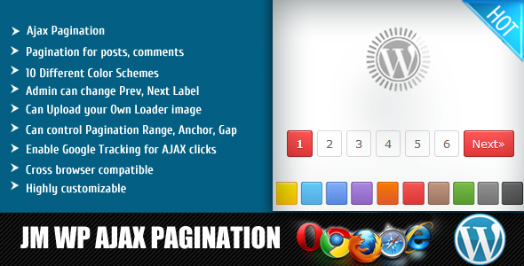 Jm Wp Ajax Pagination - CodeCanyon Item for Sale