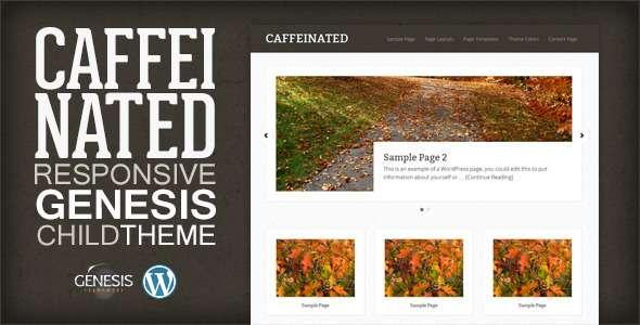 Caffeinated - Genesis Child Theme - Genesis Frameworks