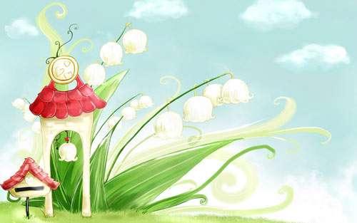 Beautiful Bellflower for Spring
