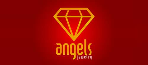angels jewelry logo