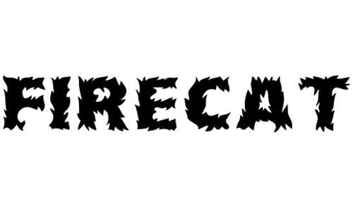 Firecat Medium font