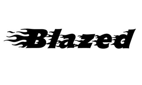 Blazed font