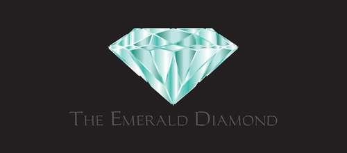 The Emerald Diamond logo