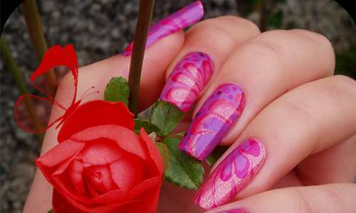 Fancy nail art