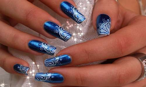 Good combination of colors nail Art