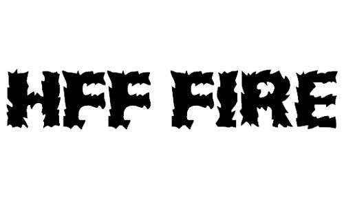 HFF Fire Dancer font